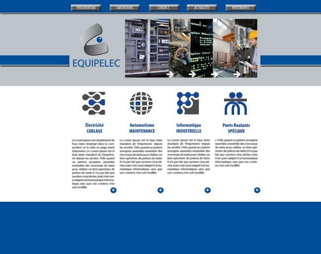 Site internet électricité